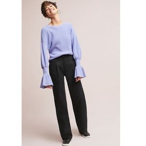 Anthropologie The Essential Wide Leg Pant